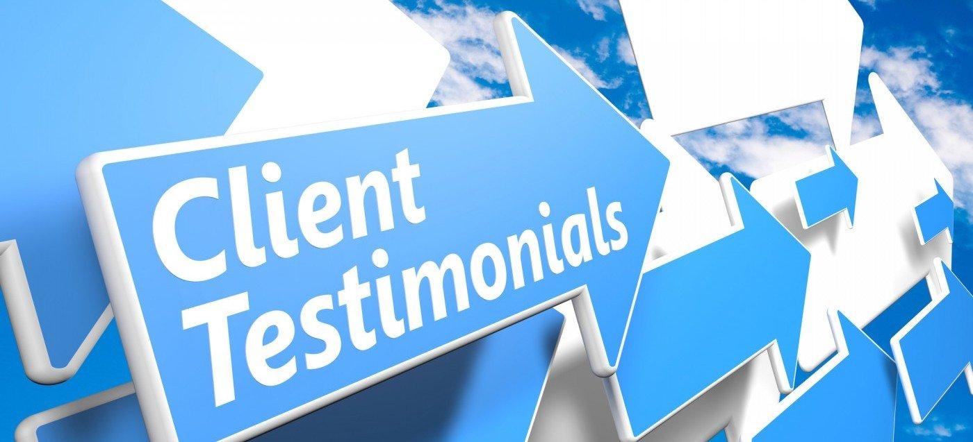shredding service Client Testimonials