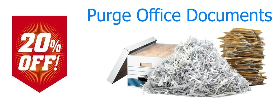 purge office documents