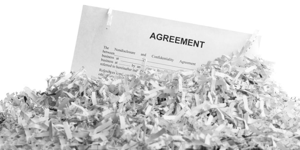 Shredded Residential documents